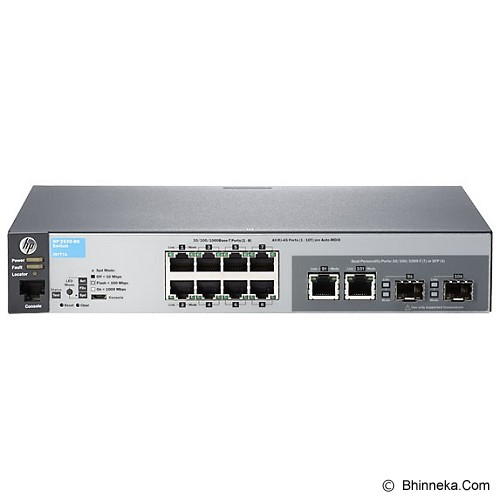 HP Switch Managed 2530-8G [J9777A] - Switch Managed